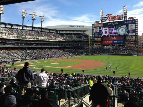 Comerica Park, section: 117C, row: G, seat: 6