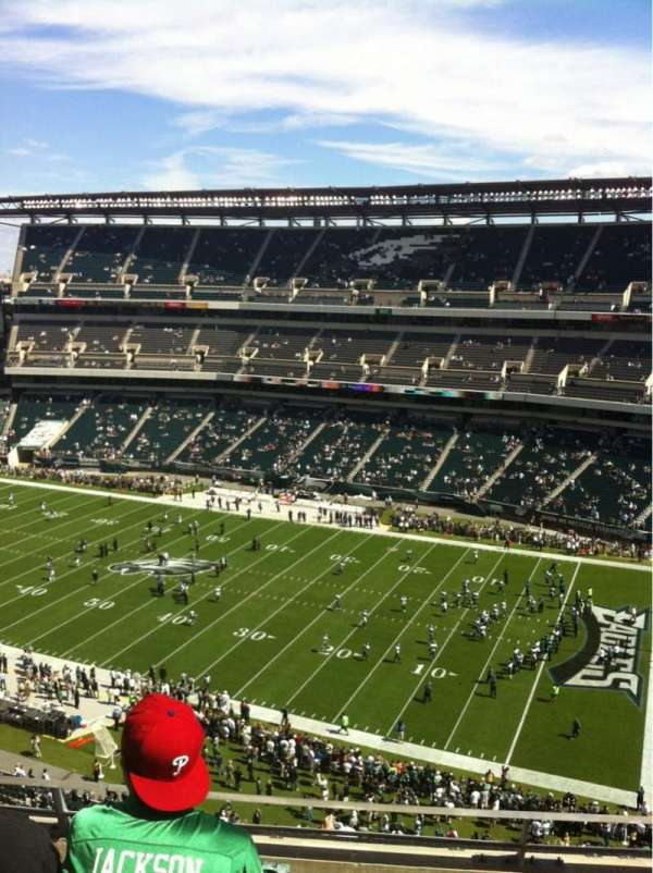 Lincoln Financial Field, section: 205, row: 7
