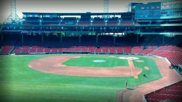 Fenway Park, section: Green Monster 2, row: 1, seat: 2