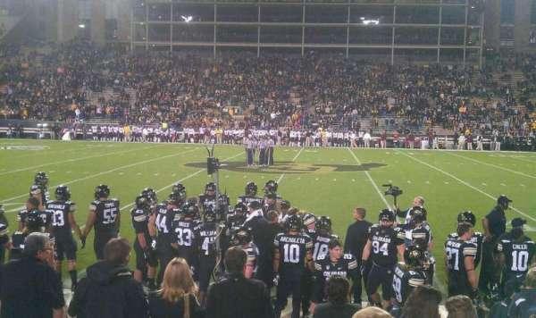 Folsom Field, section: 118, row: 4, seat: 2