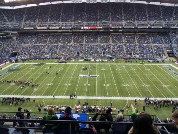CenturyLink Field, section: 309, row: h, seat: 5