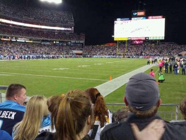 Nissan Stadium, section: 120, row: D, seat: 5