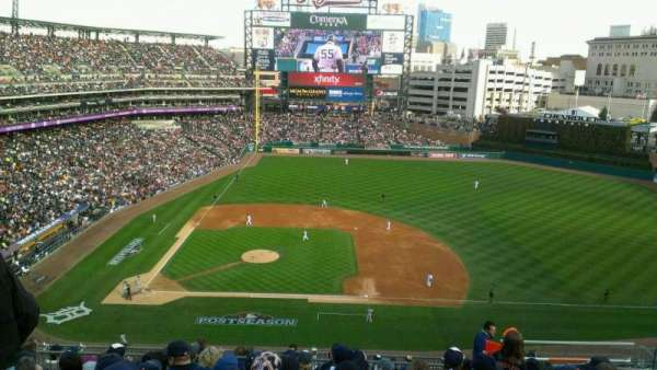 Comerica Park, section: 322, row: 9, seat: 10