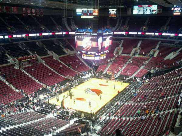 Moda Center, section: 324, row: J, seat: 9