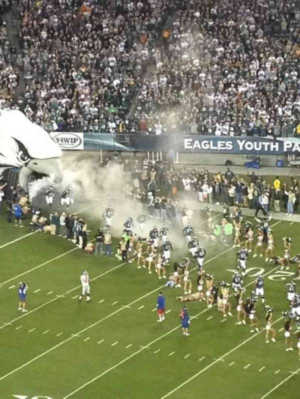 Lincoln Financial Field, section: 226, row: 9, seat: 8