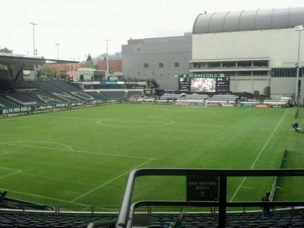 Providence Park, section: 211, row: B, seat: 1