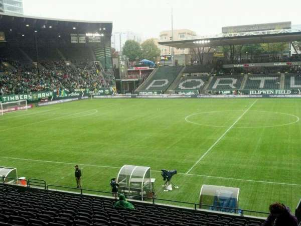 Providence Park, section: 118, row: Q, seat: 22
