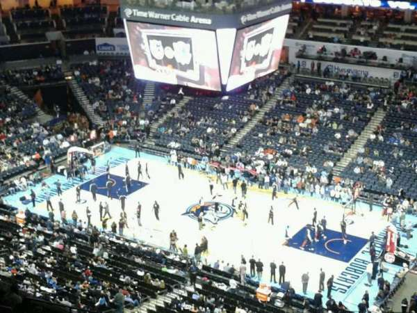 Spectrum Center, section: 206, row: T, seat: 2