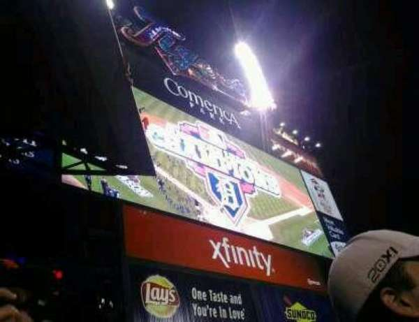 Comerica Park, section: 221