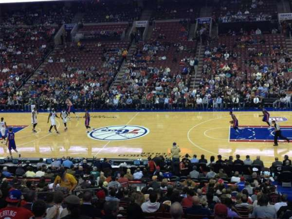 Wells Fargo Center, section: Club Box 2