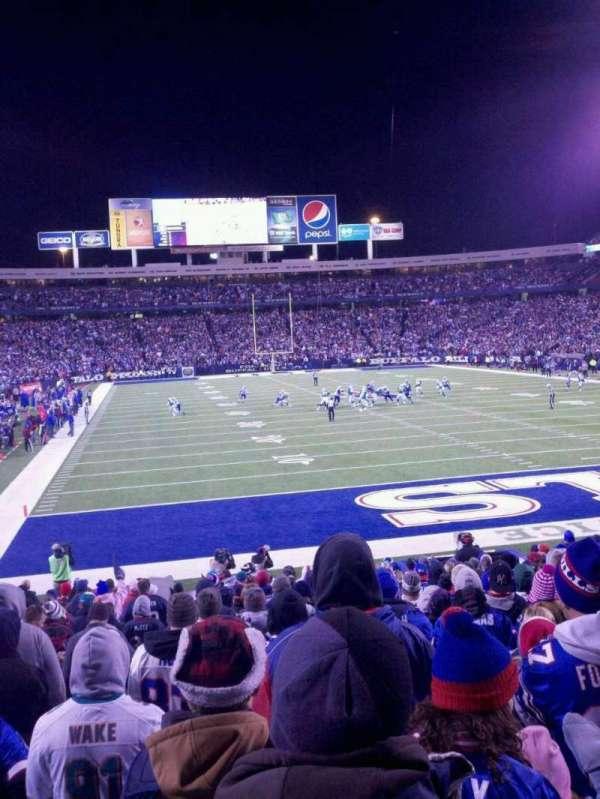 Highmark Stadium, section: 123, row: 23, seat: 26