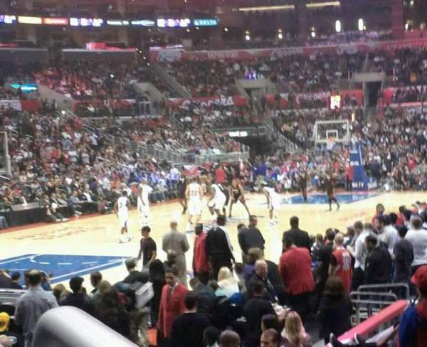 Staples Center, section: 105, row: 11, seat: 1
