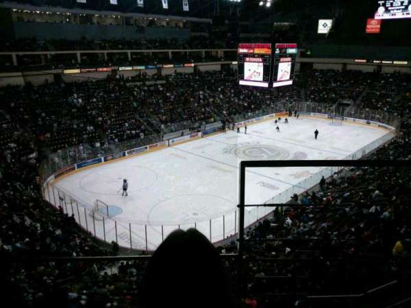 Giant Center, section: 203, row: B, seat: 1