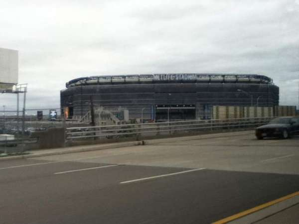 MetLife Stadium, section: On Our Way, row: To See The, seat: Jets Win
