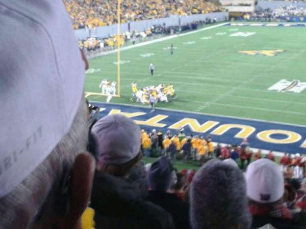 Mountaineer Field, section: 98, row: 48, seat: 19