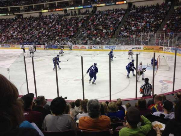 Giant Center, section: 123, row: J, seat: 6