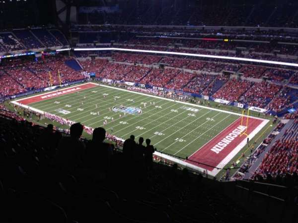 Lucas Oil Stadium, section: 634, row: 16, seat: 3