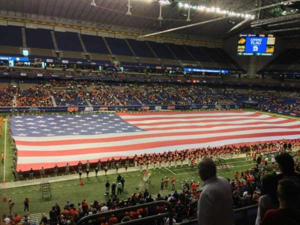 Alamodome, section: 216, row: 4, seat: 3