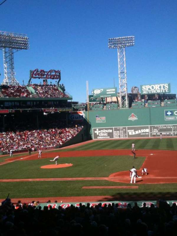 Fenway Park, section: Grandstand 14, row: 3