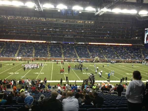 Ford Field, section: 126, row: 32, seat: 11