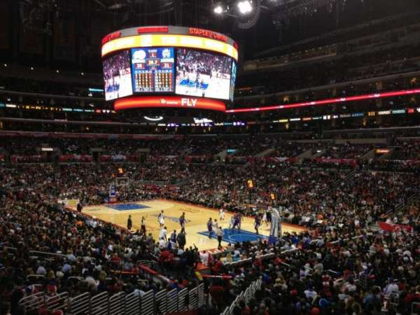 Staples Center, section: 219, row: 3, seat: 9