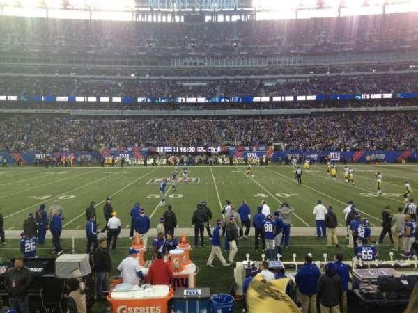 Metlife Stadium, section: 113, row: 4, seat: 4