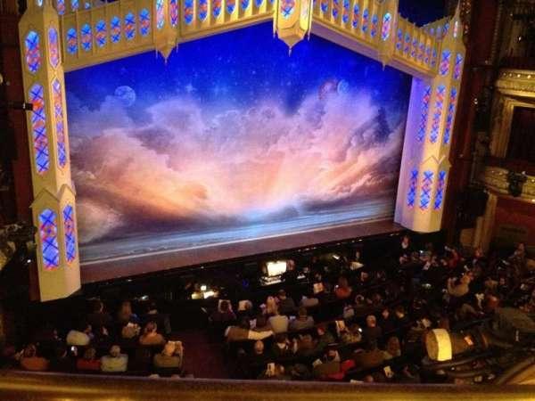 CIBC Theatre, section: Mezzanine L, row: A, seat: 1
