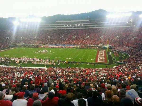 Rose Bowl, section: 7-L, row: 77, seat: 22