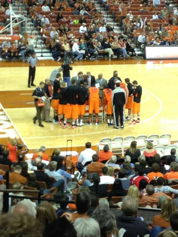 Frank Erwin Center, section: 48, row: 27, seat: 12