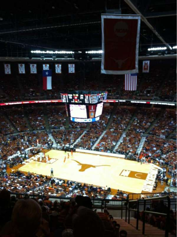 Frank Erwin Center Section 80 Home Of