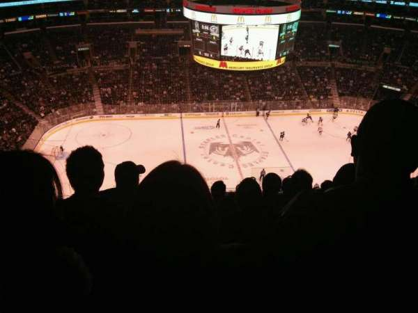 Staples Center, section: 302, row: 13, seat: 7