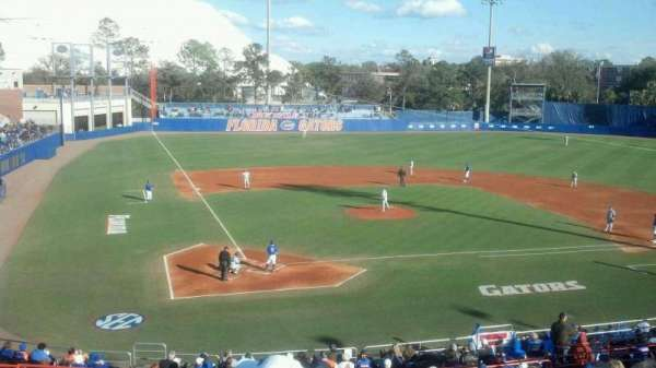 Alfred A. McKethan Stadium, section: b, row: 18, seat: 11