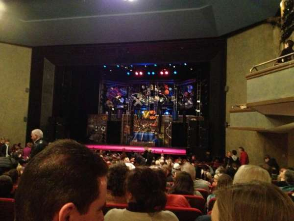 Matthews Theatre at the McCarter Theatre Center, section: Orchestra A, row: W, seat: 12