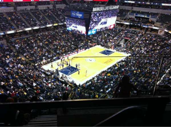 Bankers Life Fieldhouse, section: 229, row: 8, seat: 1
