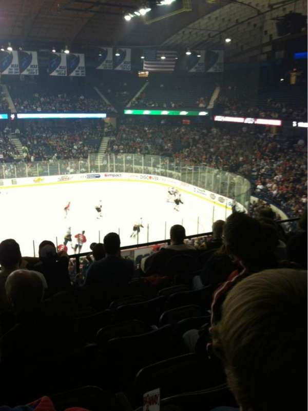 Allstate Arena, section: 202, row: F, seat: 19
