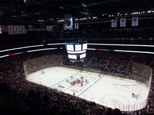 Prudential Center, section: 215, row: 2, seat: 10