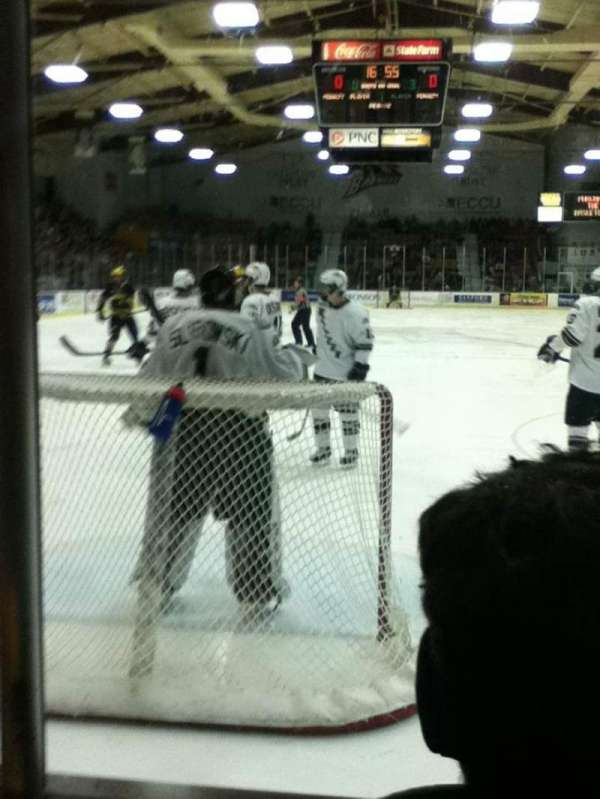 Lawson Ice Arena, section: 1, row: 2, seat: 3