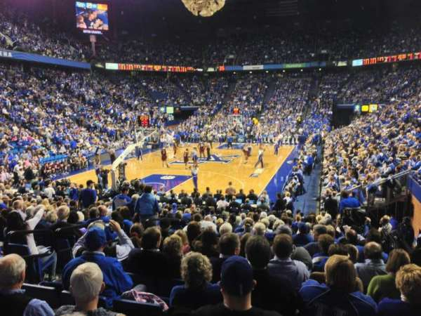 Rupp Arena, section: 21, row: UU, seat: 2