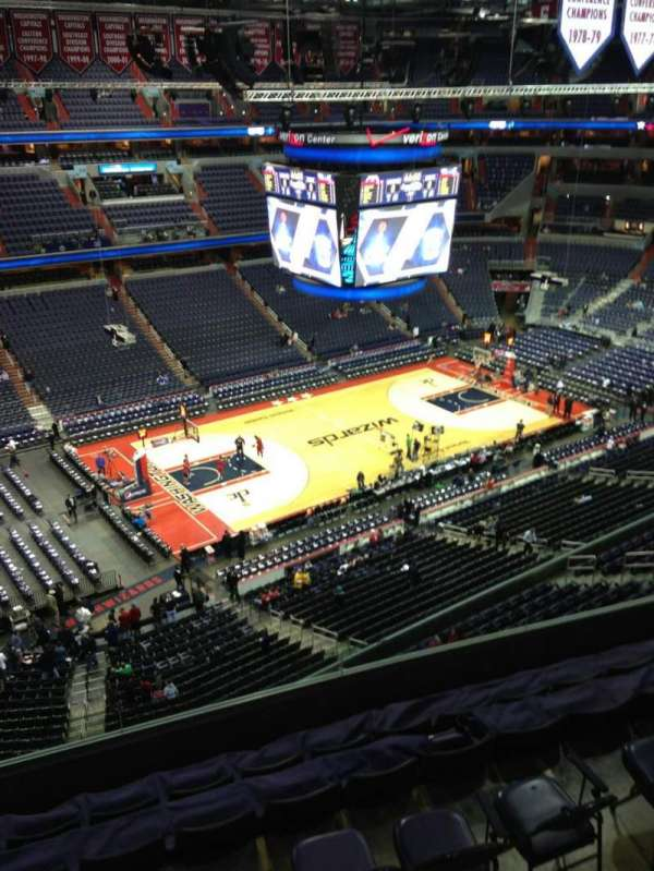 Capital One Arena, section: 431, row: G, seat: 1
