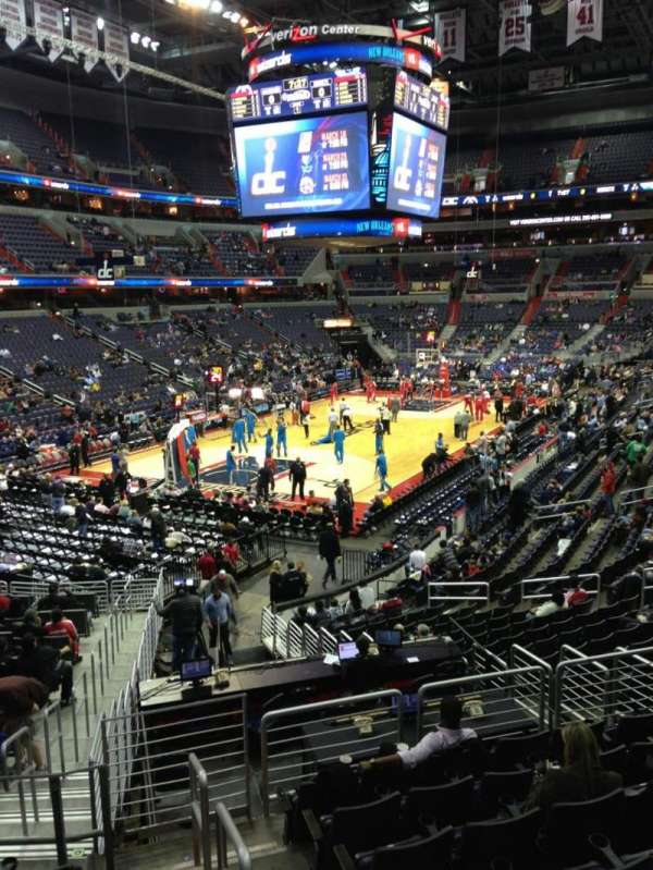 Capital One Arena Section 109 Row R Home Of Washington