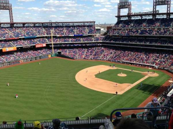 Citizens Bank Park, section: 433, row: 8, seat: 5