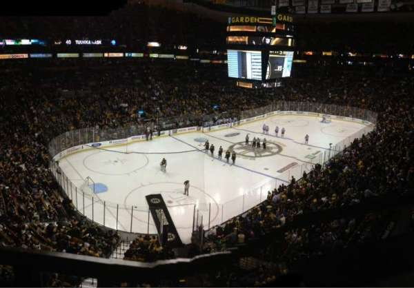 TD Garden, section: Bal 319, row: 12, seat: 3