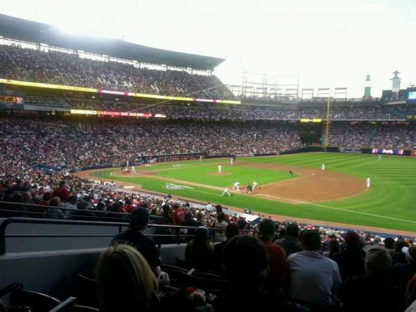 Turner Field, section: 219, row: 10, seat: 103