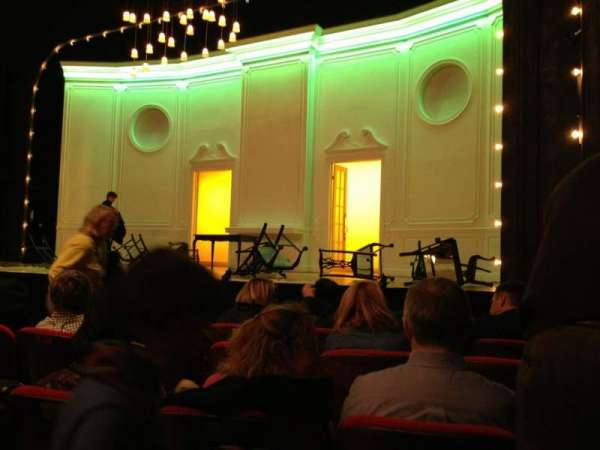 Matthews Theatre at the McCarter Theatre Center, section: Orchestra, row: J, seat: 14