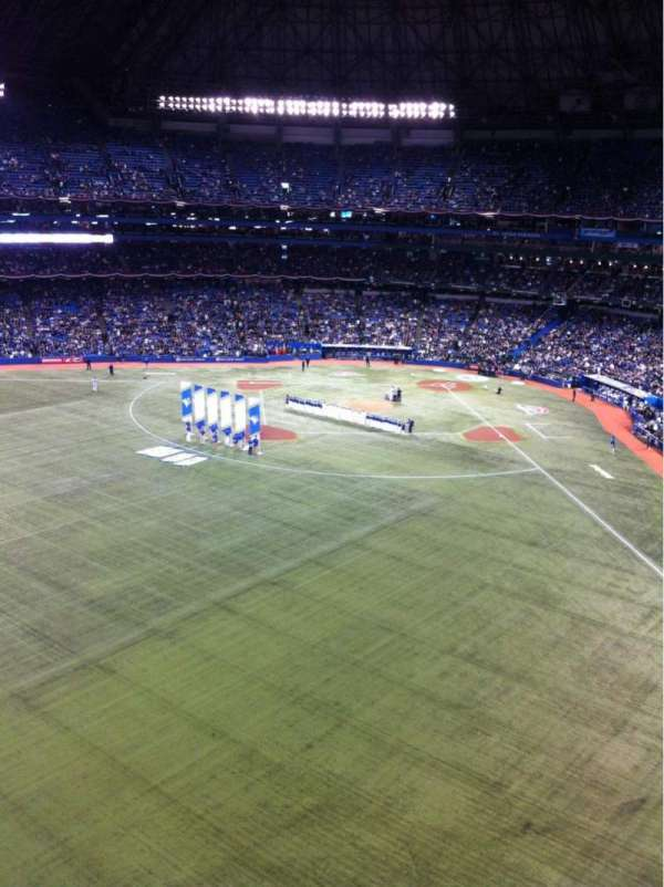 Rogers Centre, section: 542R, row: 1, seat: 7