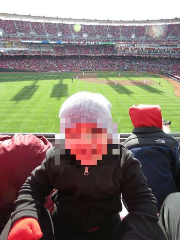 Great American Ball Park, section: 403, row: H, seat: 2