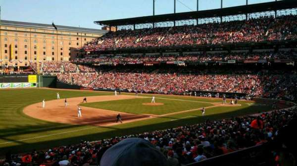 Oriole Park at Camden Yards, section: 61, row: 2