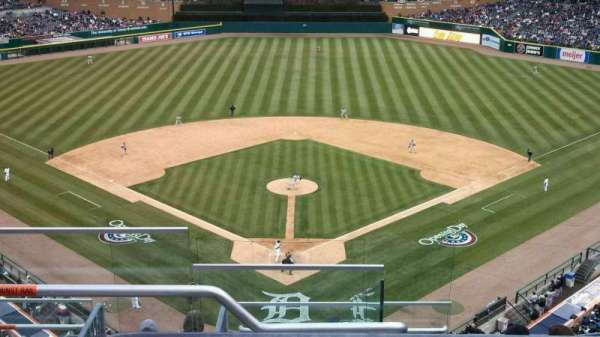Comerica Park, section: 327, row: 8, seat: 21