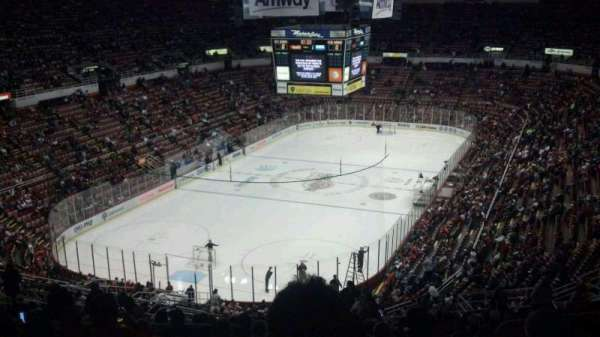 Joe Louis Arena, section: 213A, row: 23, seat: 4