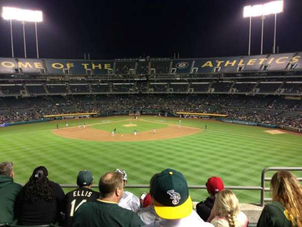 Oakland Coliseum, section: 241, row: 12, seat: 4